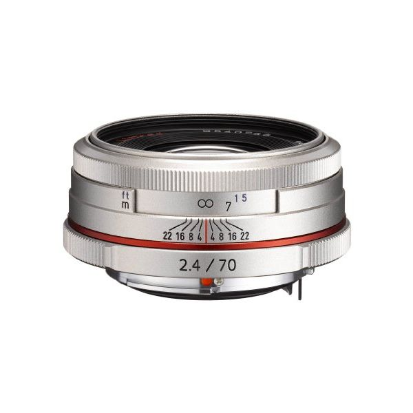 【中古】【1年保証】【美品】PENTAX HD DA 70mm F2.4 Limited シルバー