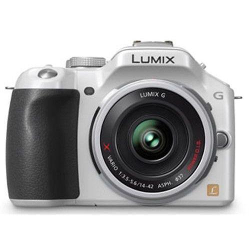 【中古】【1年保証】【美品】 Panasonic LUMIX G5 電動ズーム付属 ホワイト