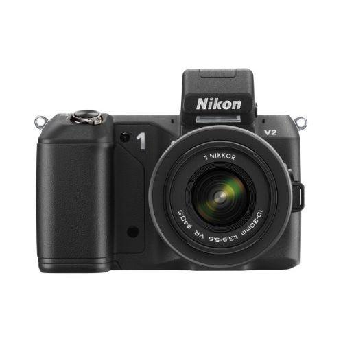 【中古】【1年保証】【美品】Nikon V2 レンズキット VR 10-30mm ブラック