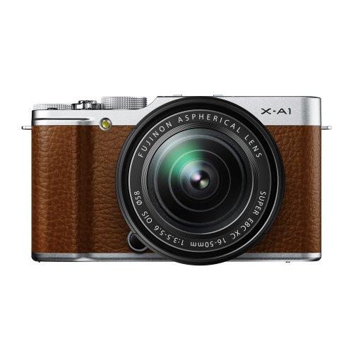 【中古】【1年保証】【美品】FUJIFILM X-A1 16-50mm レンズキット ブラウン