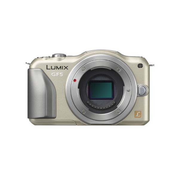 【中古】【1年保証】【美品】Panasonic LUMIX GF5 ボディ ゴールド
