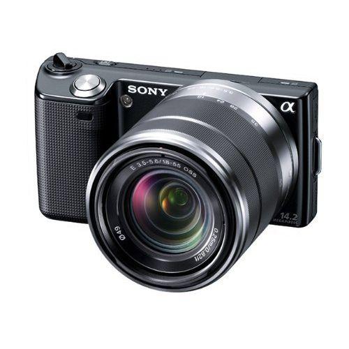 【中古】【1年保証】【美品】SONY NEX-5 18-55mm レンズキット ブラック
