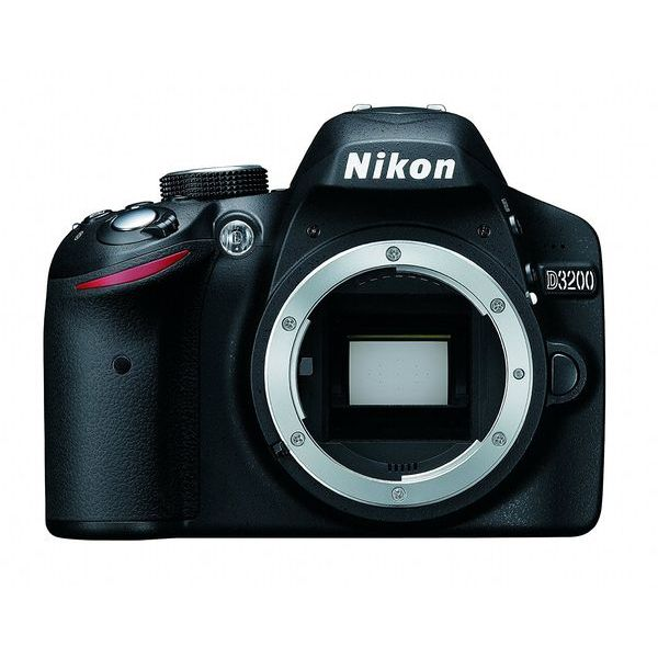 【中古】【1年保証】【美品】 Nikon D3200 ボディ ブラック