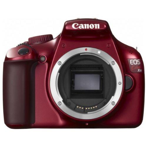 【中古】【1年保証】【美品】 Canon EOS Kiss X50 ボディ レッド