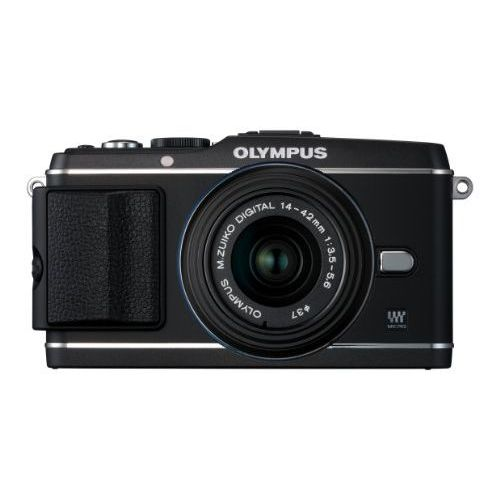 【中古】【1年保証】【美品】 OLYMPUS PEN E-P3 レンズキット ブラック