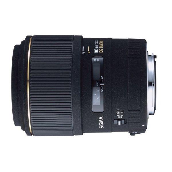【中古】【1年保証】【美品】SIGMA 105mm F2.8 EX DG MACRO ニコン