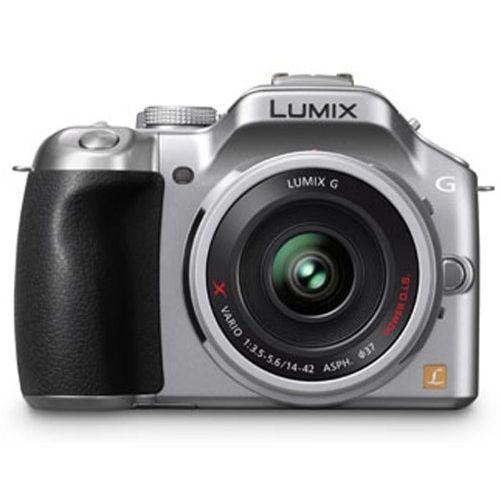 【中古】【1年保証】【美品】Panasonic LUMIX G5 電動ズーム シルバー