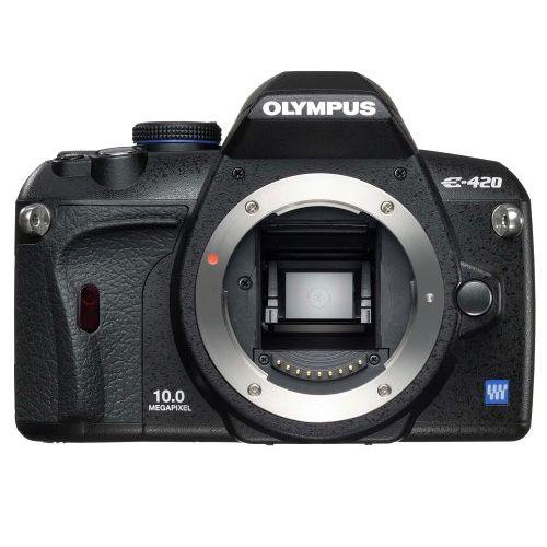 【中古】【1年保証】【美品】 OLYMPUS E-420 ボディ 本体