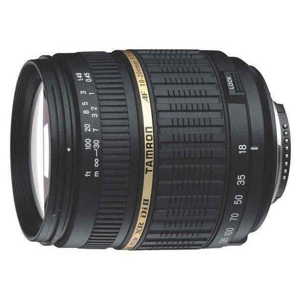 【中古】【1年保証】【美品】 TAMRON AF 18-200mm F3.5-6.3 XR DiII LD ASPH Macro A14 ニコン