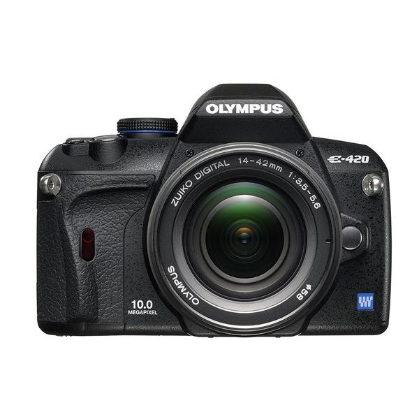 【中古】【1年保証】【美品】 OLYMPUS E-420 レンズキット 14-42mm F3.5-5.6