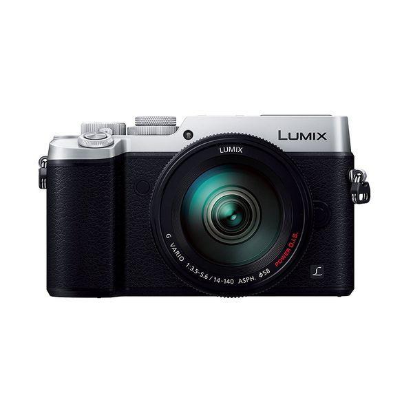 【中古】【1年保証】【美品】Panasonic LUMIX GX8 14-140mm 付属 シルバー