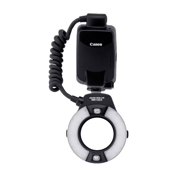 【中古】【1年保証】【美品】Canon マクロリングライト MR-14EX