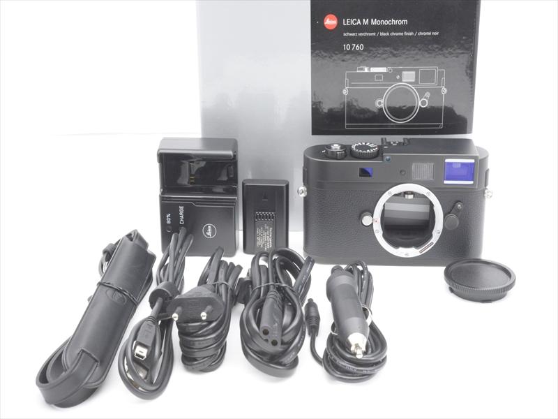 【あす楽】【中古】【1年保証】【新品級】 Leica Mモノクローム ブラッククローム