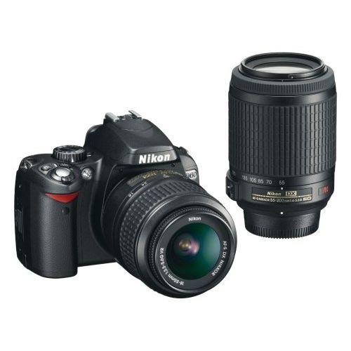 【中古】【1年保証】【美品】Nikon D60 18-55mm VR 55-200 VR ダブルズームキット