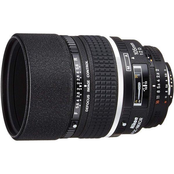 中古 最安値 Nikon Ai AF DC ショッピング 105mm 美品 F2D 1年保証