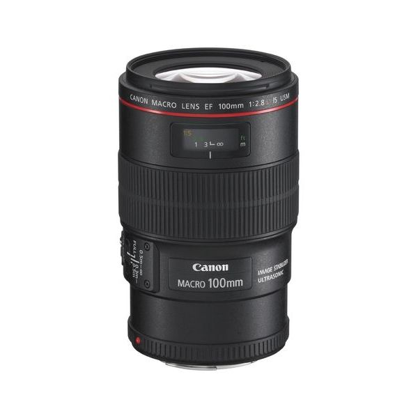 【中古】【1年保証】【美品】Canon EF 100mm F2.8L IS USM マクロ