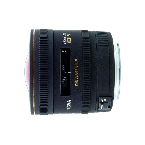 【中古】【1年保証】【美品】SIGMA 4.5mm F2.8 EX DC CIRCULAR HSM ソニー