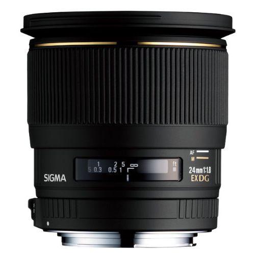 【中古】【1年保証】【美品】 SIGMA 24mm F1.8 EX DG MACRO キヤノン