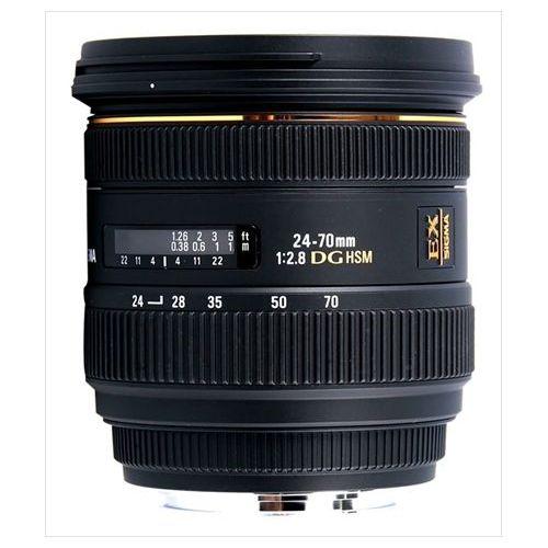 【中古】【1年保証】【美品】SIGMA 24-70mm F2.8 EX DG HSM ニコン