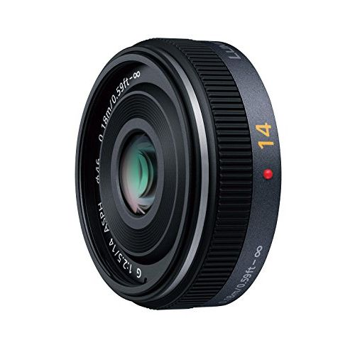【中古】【1年保証】【美品】Panasonic LUMIX G 14mm F2.5 ASPH. H-H014