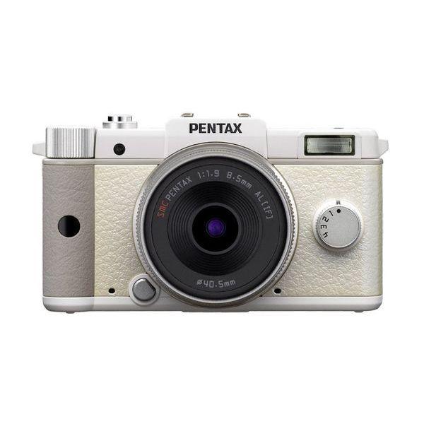 【中古】【1年保証】【美品】PENTAX Q レンズキット ホワイト