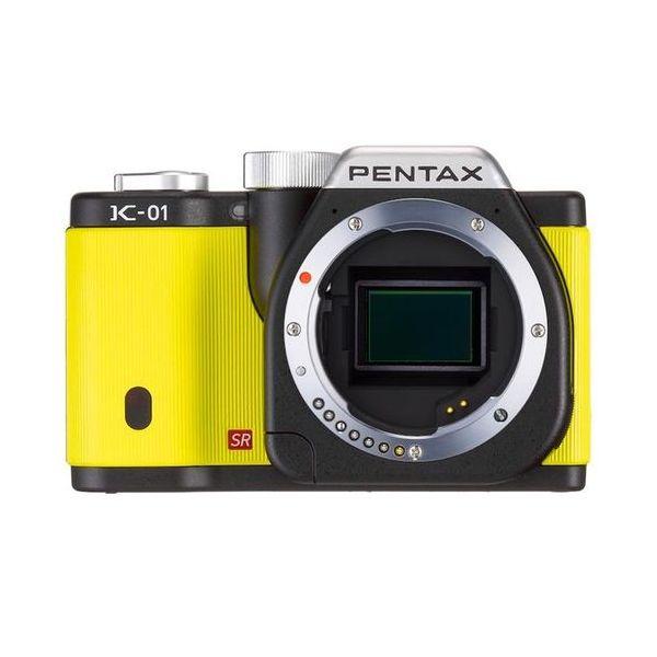 【中古】【1年保証】【美品】PENTAX K-01 ボディ ブラック/イエロー