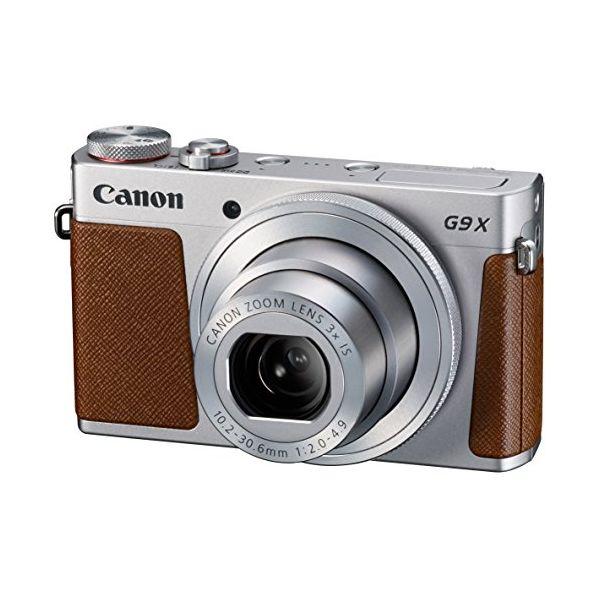 【中古】【1年保証】【美品】Canon PowerShot G9X シルバー
