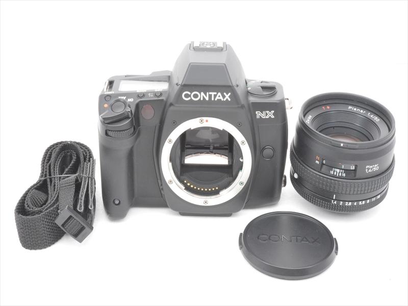 【あす楽】【中古】【1年保証】【新品級】 CONTAX NX 50/1.4 planar