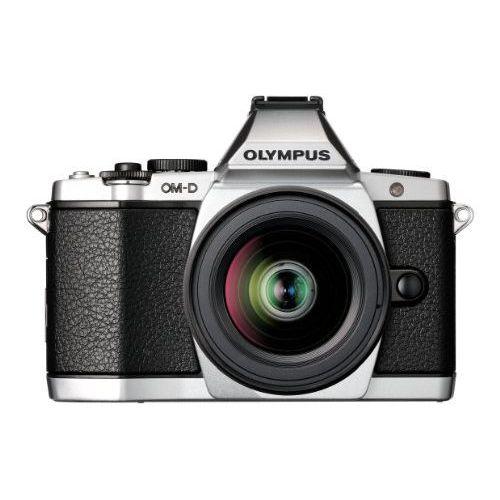【中古】【1年保証】【美品】OLYMPUS OM-D E-M5 レンズキット シルバー