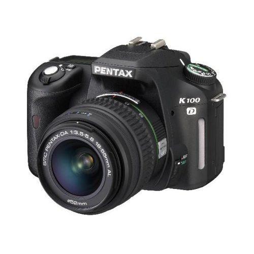 【中古】【1年保証】【美品】PENTAX K100D レンズキット DA 18-55mm AL