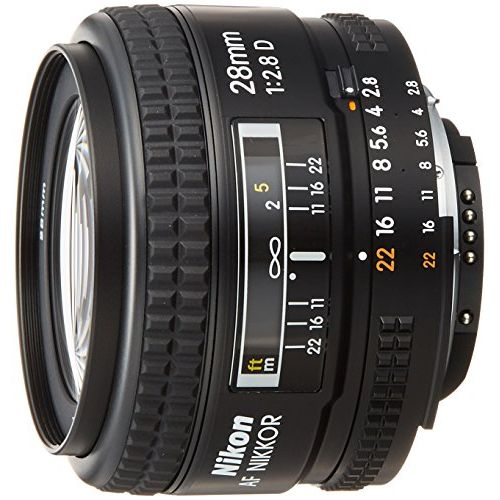 【中古】【1年保証】【美品】 Nikon 単焦点レンズ Ai AF 28mm F2.8D