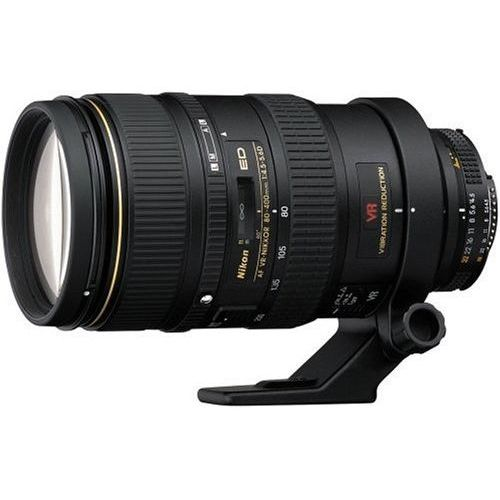 【中古】【1年保証】【美品】Nikon Ai AF 80-400mm F4.5-5.6D ED VR