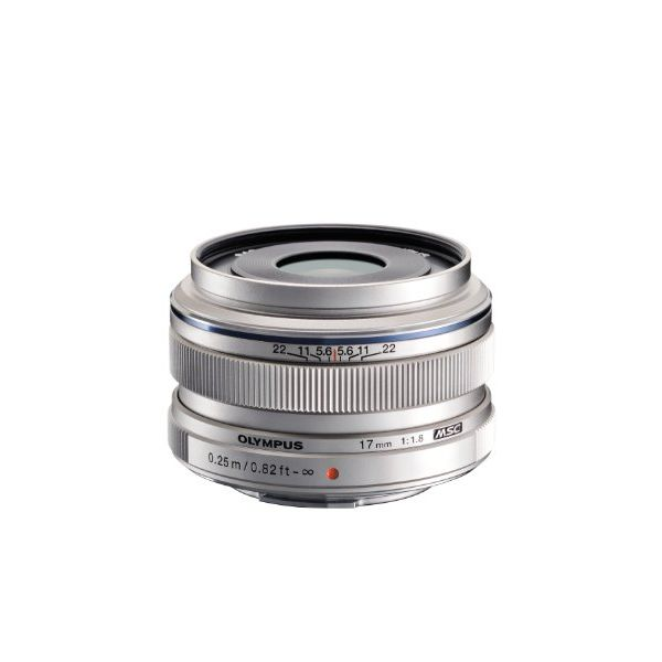 【中古】【1年保証】【美品】OLYMPUS M.ZUIKO DIGITAL 17mm F1.8 シルバー
