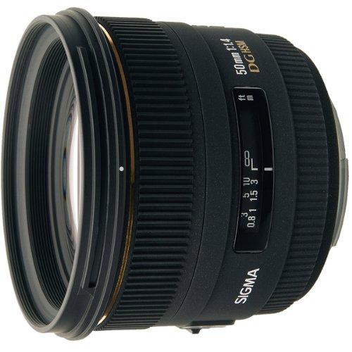 【中古】【1年保証】【美品】 SIGMA 単焦点 50mm F1.4 EX DG HSM ニコン用