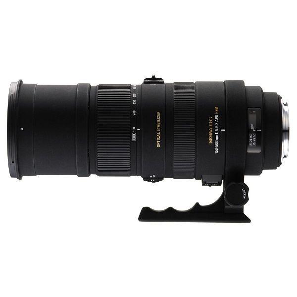 【中古】【1年保証】【美品】SIGMA APO 150-500mm F5-6.3 DG OS HSM ニコン