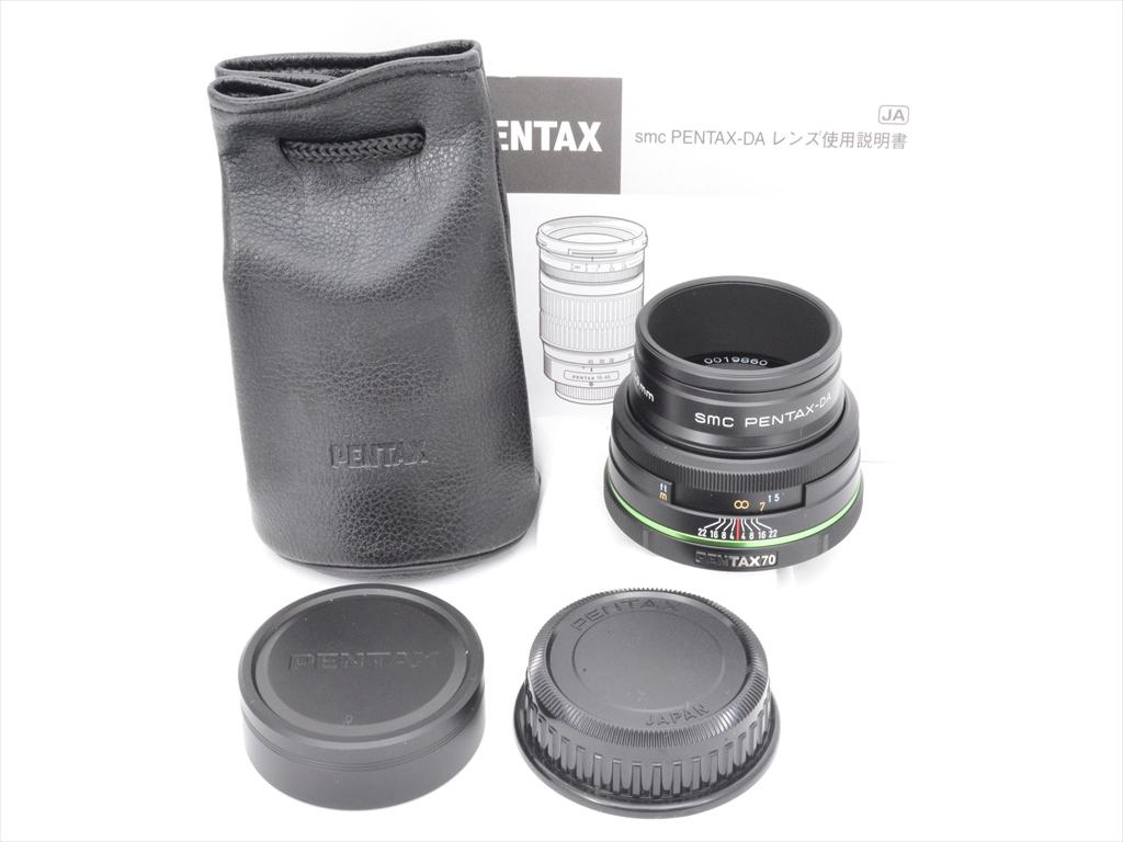 【あす楽】【中古】【1年保証】【新品級】 PENTAX リミテッド DA 70mm F2.4