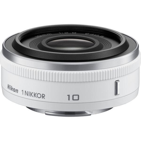 【中古】【1年保証】【美品】Nikon 1 10mm F2.8 ホワイト