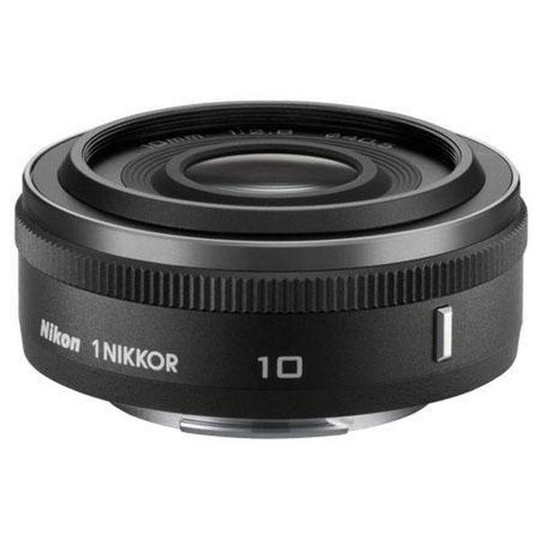 【中古】【1年保証】【美品】 Nikon 1 10mm F2.8 ブラック