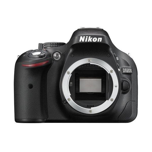 【中古】【1年保証】【美品】 Nikon D5200 ボディ ブラック
