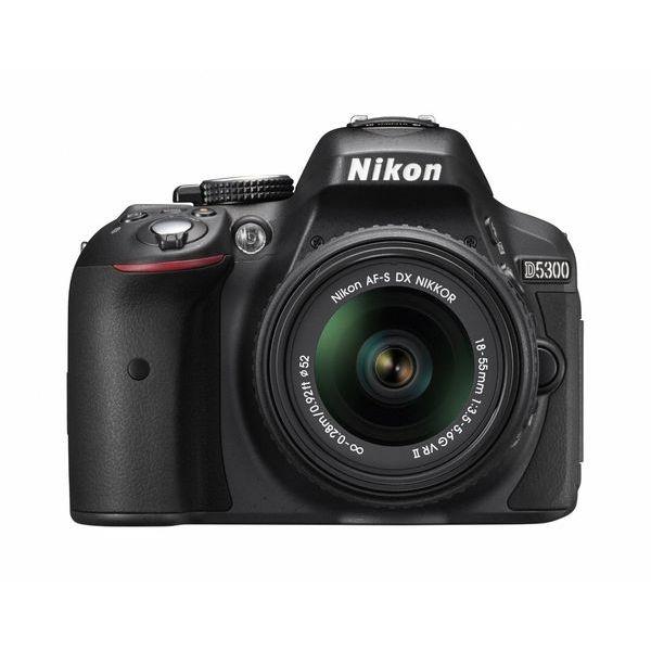 【中古】【1年保証】【美品】Nikon D5300 18-55mm VR II レンズキット ブラック