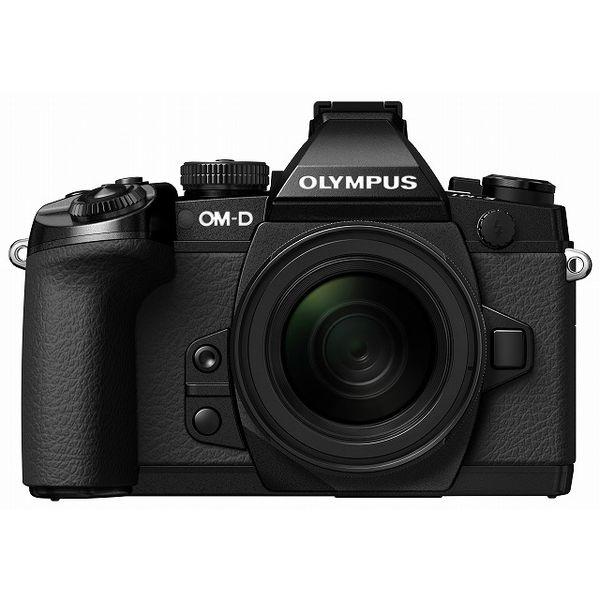 【中古】【1年保証】【美品】 OLYMPUS OM-D E-M1 12-50mm EZ ブラック
