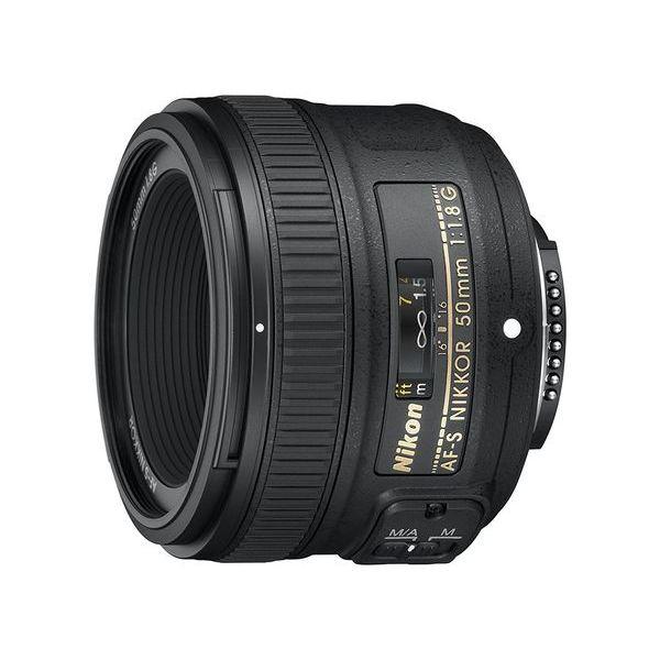 【中古】【1年保証】【美品】Nikon AF-S 50mm F1.8G