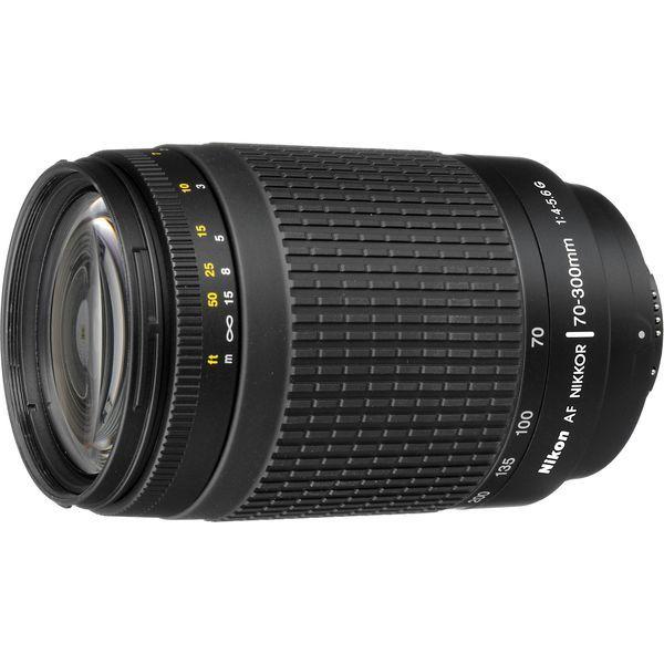 【中古】【1年保証】【美品】Nikon AF 70-300mm F4-5.6G ブラック