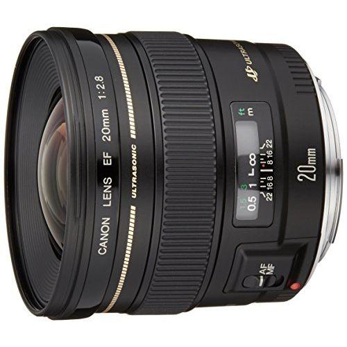 【中古】【1年保証】【美品】Canon EF 20mm F2.8 USM