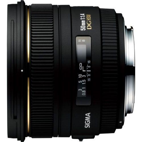 【中古】【1年保証】【美品】 SIGMA 50mm F1.4 EX DG HSM キヤノン用