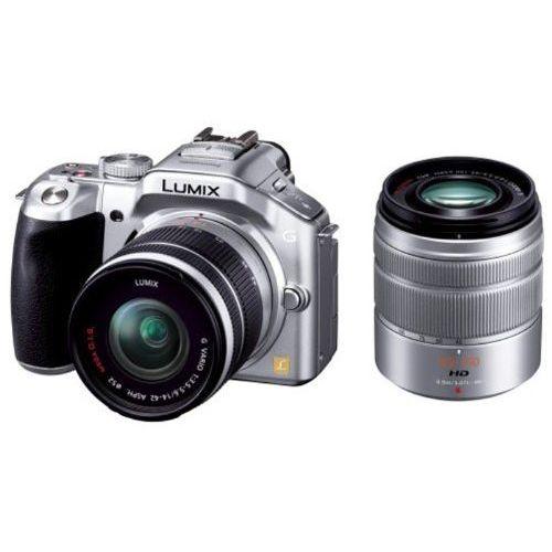 【中古】【1年保証】【美品】Panasonic LUMIX G5 ダブルズームキット シルバー