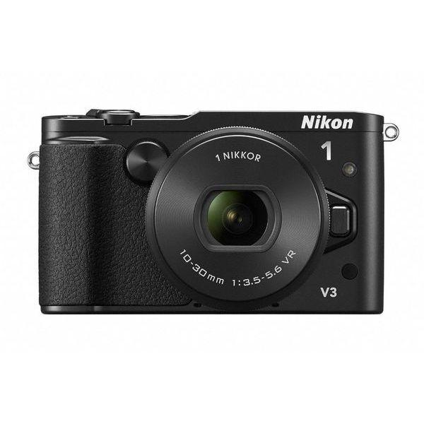 【中古】【1年保証】【美品】Nikon V3 パワーズームレンズキット ブラック