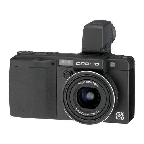 【中古】【1年保証】【美品】 RICOH Caplio (キャプリオ) GX100 VF KIT