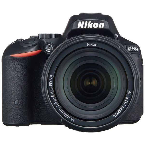 【中古】【1年保証】【美品】Nikon D5500 18-140mm VR レンズキット ブラック