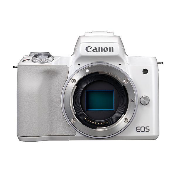 【中古】【1年保証】【美品】Canon EOS Kiss M ボディ ホワイト